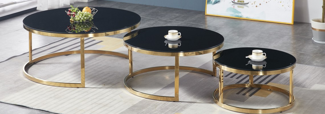 Glass coffee tables image