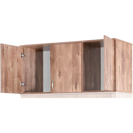 חלק עליון לארון - דגם 607E. ריהוט, רהיטים זולים, ריהוט ארגוני, חדרי שינה, ארונות, מדפים, ארונות לחדר שינה, ארונות בגדים.