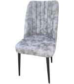 Victoria gray chair