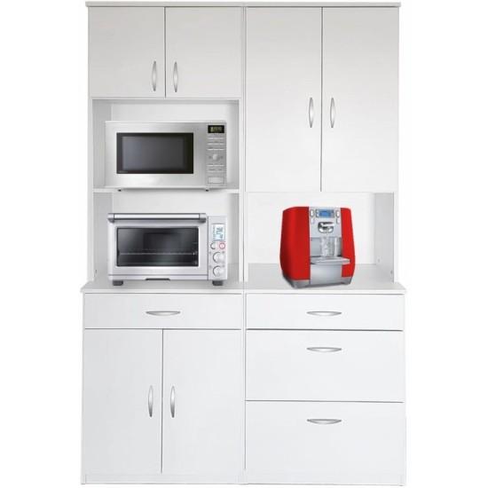 ארון גדול לשני מיקרוגלים - דגם 4008. ריהוט, רהיטים זולים, ריהוט ארגוני, ריהוט למטבח, ארונות מיקרוגל, ארונות מטבח.
