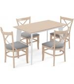 Milano table - Oak colored beech