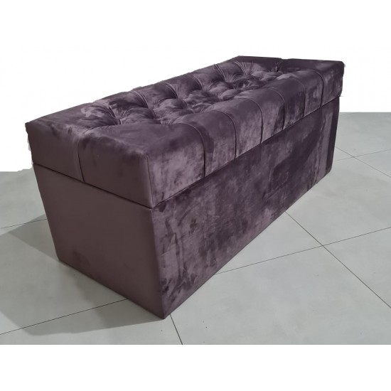 Luxurious FANCY velvet pouf image