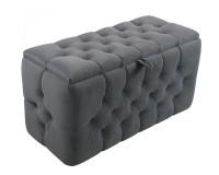 Luxurious velvet pouf Furniture, Sectional Sofas, Bedroom Furniture, Poufs image
