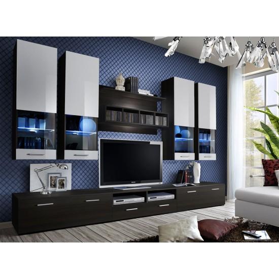 DORADE Living Room Wall Unit Set Furniture, Living Room Furniture, Furniture Wall Units, Organizational Furniture, Modern Furniture Wall Units image