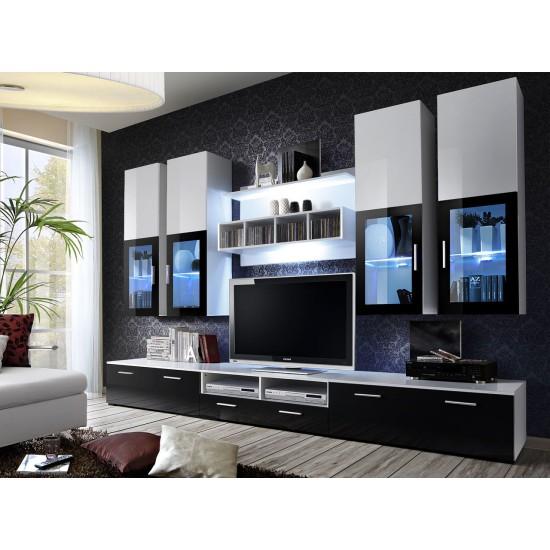 LYRA Living Room Wall Unit Set Furniture, Living Room Furniture, Furniture Wall Units, Organizational Furniture, Modern Furniture Wall Units image