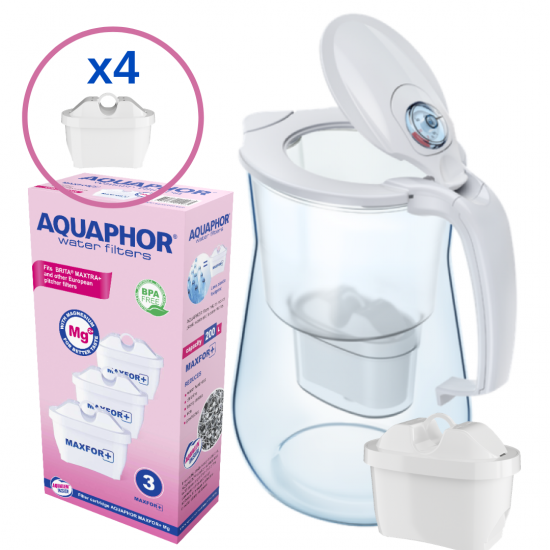 Filter Jug ONYX - 4,2 L, includes 4 filters Filters Aquaphor, Water Filtration Systems, Filter Jugs image
