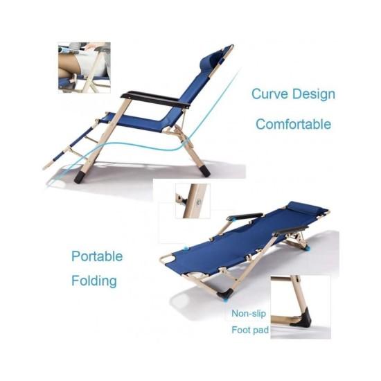 Folding sun lounger Vacation image