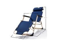 Folding sun lounger Pleasure image