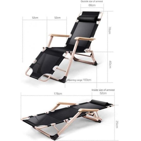 Folding sun lounger Summer Furniture, Garden furniture image