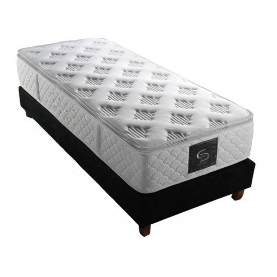 Tulyp Style PillowTop - single orthopedic mattress combined with springs image