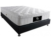 EXCELLENT VISCO - double, firm orthopedic mattress on springs Furniture, Mattresses, Spring mattresses, Visco mattresses, Spring mattresses - double, Visco mattresses - double image