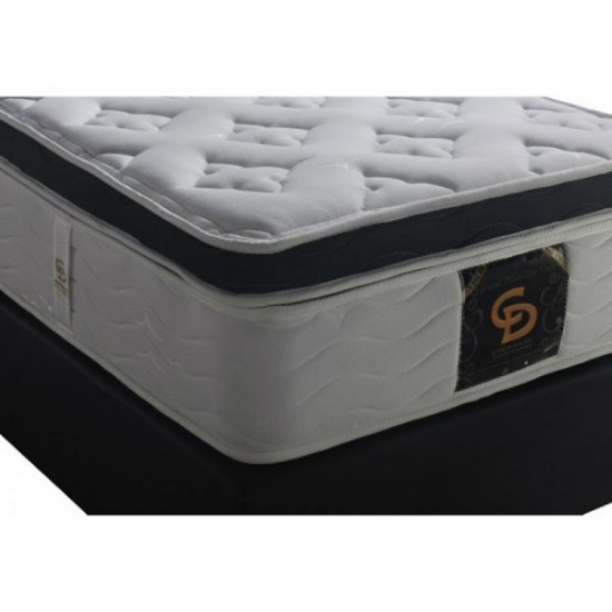 Grand Pilotop Visco - Single orthopedic mattress with Mega Spine springs image