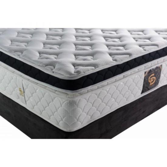 Grand Pilotop Visco - One+half orthopedic mattress with Mega Spine springs Furniture, Mattresses, Spring mattresses, Visco mattresses, Spring mattresses - one and a half, Visco mattresses - one and a half image