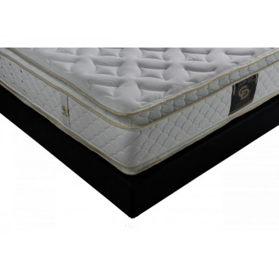 Golden Tulip Double Side Visco and Latex - One+half orthopedic mattress with springs Furniture, Mattresses, Spring mattresses, Latex mattresses, Visco mattresses, Spring mattresses - one and a half, Latex mattresses - one and a half, Visco mattresses - one and a half image