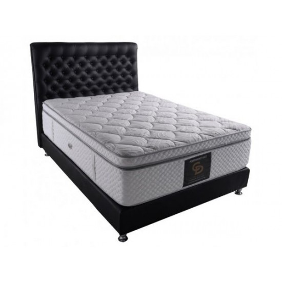 Power Magnet Visco - Double orthopedic mattress withought springs image