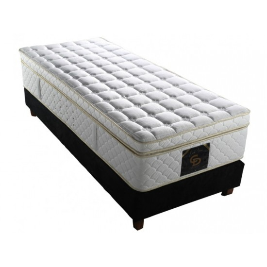 Gold Visco - Single orthopedic mattress withought springs Furniture, Mattresses, Mattresses without springs, Visco mattresses, Mattresses for children, Single mattresses, Springless mattresses - single image