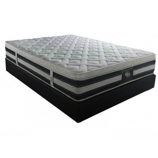 Unique Visco - One+half orthopedic mattress withought springs image
