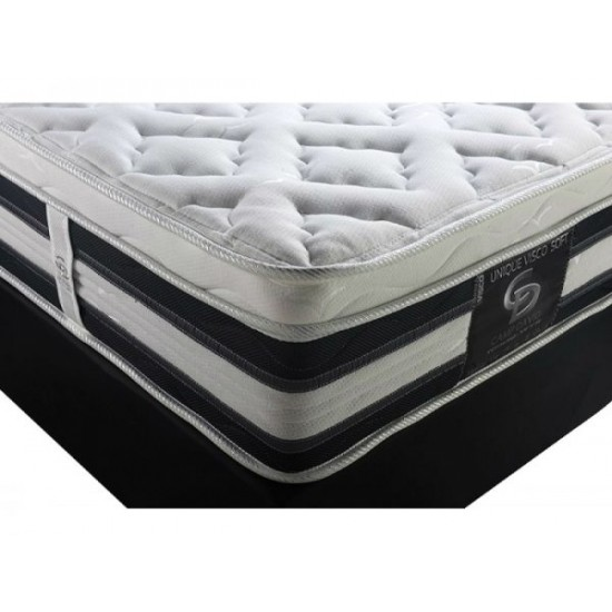 Unique Viscoo - Double orthopedic mattress withought springs image