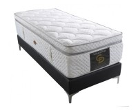 Power Magnet Visco - Single orthopedic mattress withought springs image