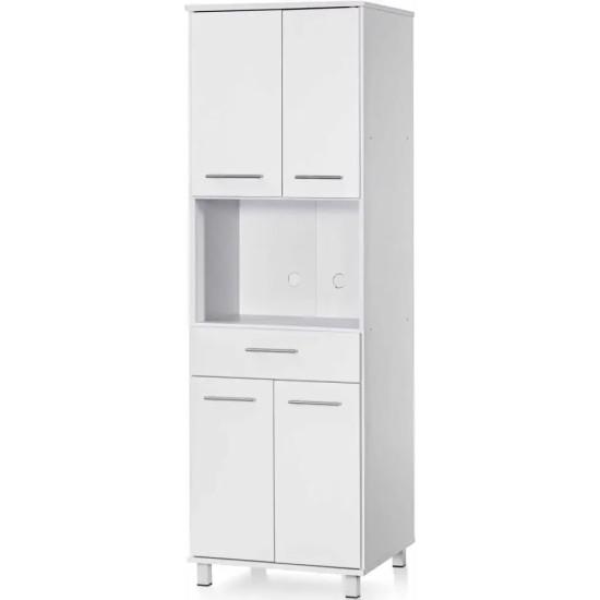 Microwave Cabinet 409 Furniture, Budget Furniture, Organizational Furniture, Furniture for kitchen, Microwave cabinets image