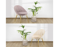 Chair for velvet dining room model ODEL Furniture, Sectional Sofas, Chairs, Tables and Chairs, Chairs, Fabric chairs image