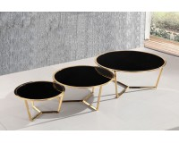 שולחן סלון מיכל שלישיה