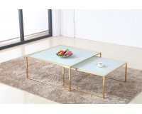 Coffee table MAYA - set of 2 tables 100 + 80 image
