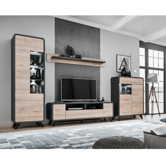 Wall shelf ROUND Furniture, Living Room Furniture, Organizational Furniture, Modular Furniture, Wall Shelves, Collection ROUND image