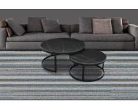 שולחן קפה מאבן שחור TALI - 60 * 32. ריהוט, כל שולחנות הקפה, ריהוט לסלון, שולחנות סלון, שולחנות קפה מזכוכית, שולחנות קפה.