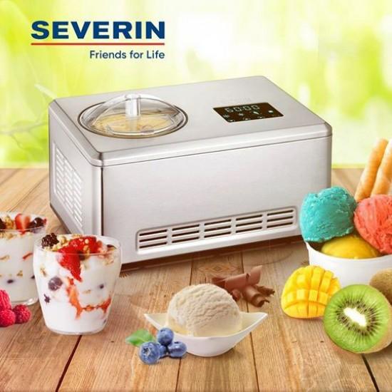 Домашняя мороженица SEVERIN EZ-7406 (мороженое /йогурт/фрозен йогурт/щербет)