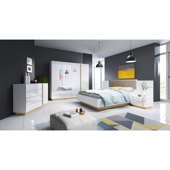Bedroom ARCO WHITE