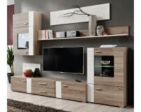 ALEPPO Living Room Wall Unit Set White image