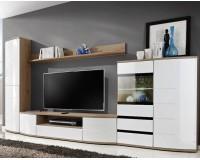 ONTARIO II Living Room Wall Unit Set White Furniture, Furniture Wall Units, Organizational Furniture, Modern Furniture Wall Units image