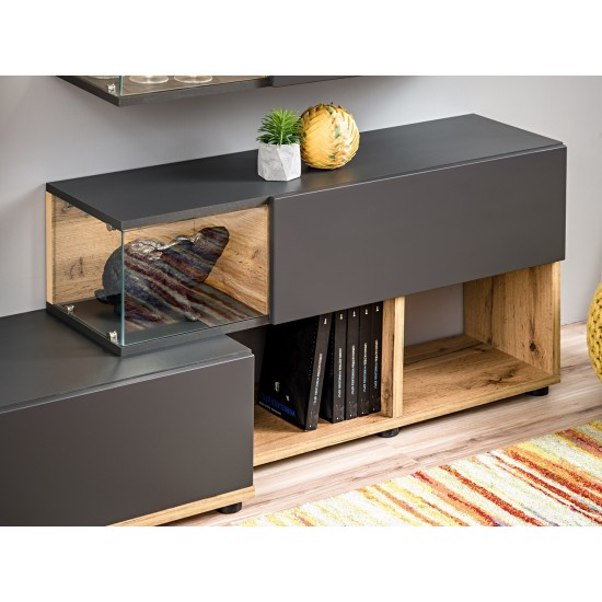 SILK Living Room Wall Unit Furniture, Furniture Wall Units, Organizational Furniture, Modern Furniture Wall Units image
