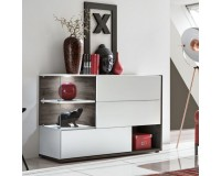 SILK WHITE chest of drawers for the living room image