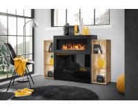 Comoda CAMINO with bio fireplace Furniture, Organizational Furniture, Chest of Drawers, Chest Of Drawers image