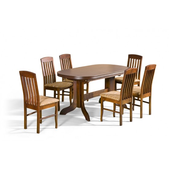 Dinner table MARS Furniture, Dining Room Sets, Wooden Dining Sets, Tables and Chairs, Wooden Tables image