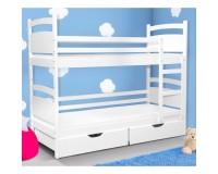 Children's bed Oscar White image