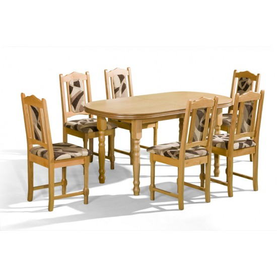 Dinner Table ARES I Furniture, Dining Room Sets, Wooden Dining Sets, Tables and Chairs, Wooden Tables image