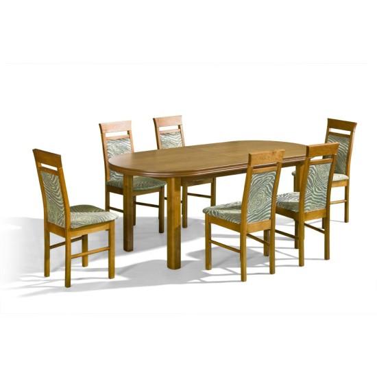 שולחן BARON. ריהוט, פינות אוכל, פינות אוכל מעץ, שולחנות וכסאות, שולחנות עץ.