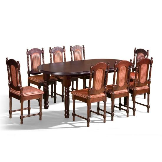 שולחן BARON II. ריהוט, פינות אוכל, פינות אוכל מעץ, שולחנות וכסאות, שולחנות עץ.
