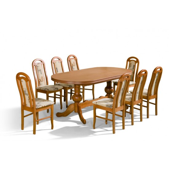 Dinner Table WENUS Furniture, Dining Room Sets, Wooden Dining Sets, Tables and Chairs, Wooden Tables image