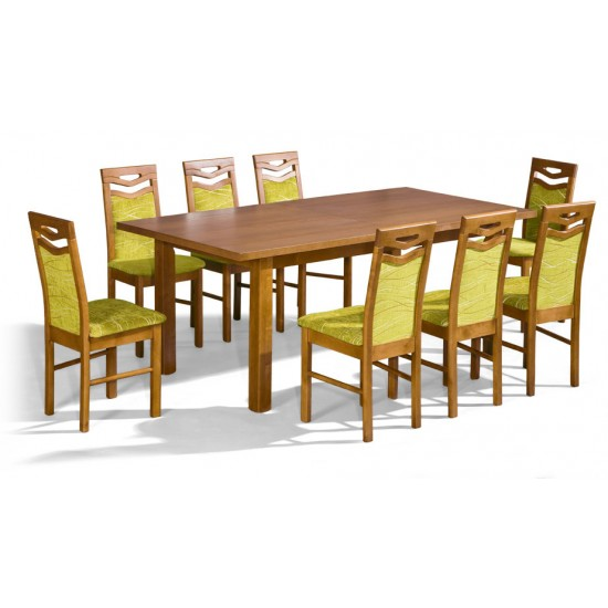 Dinner Table PREZYDENT 2 Furniture, Dining Room Sets, Wooden Dining Sets, Tables and Chairs, Wooden Tables image