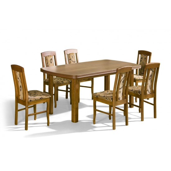 Dinner Table APOLLO Furniture, Dining Room Sets, Wooden Dining Sets, Tables and Chairs, Wooden Tables image