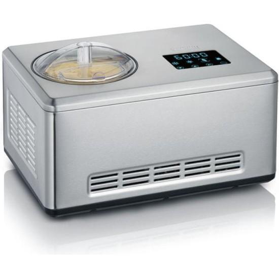 SEVERIN EZ 7405 (גרמניה) מכונה ביתית אוטומטית להכנת גלידה / יוגורט / פרוזן יוגורט / סורבה. מוצרי חשמל למטבח, יצרנית היוגורטים, מכונות להכנת גלידה.