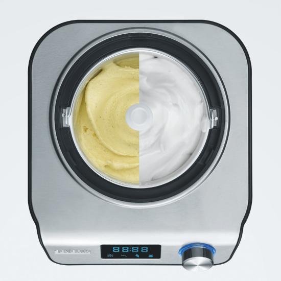 SEVERIN EZ-7407 (Germany) Automatic home ice cream / yogurt maker / frozen yogurt / sorbet Kitchen Appliances, Yogurt maker, Ice Cream Makers image