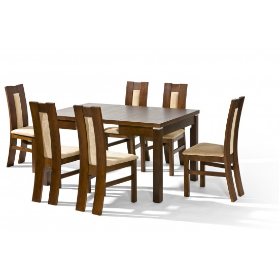 Dinner Table LOTOS Furniture, Dining Room Sets, Wooden Dining Sets, Tables and Chairs, Wooden Tables image