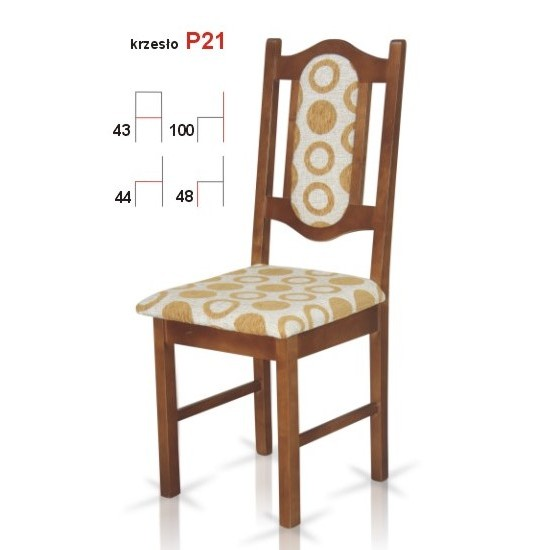 Chair P21 Furniture, Tables and Chairs, Chairs, Wooden Chairs image