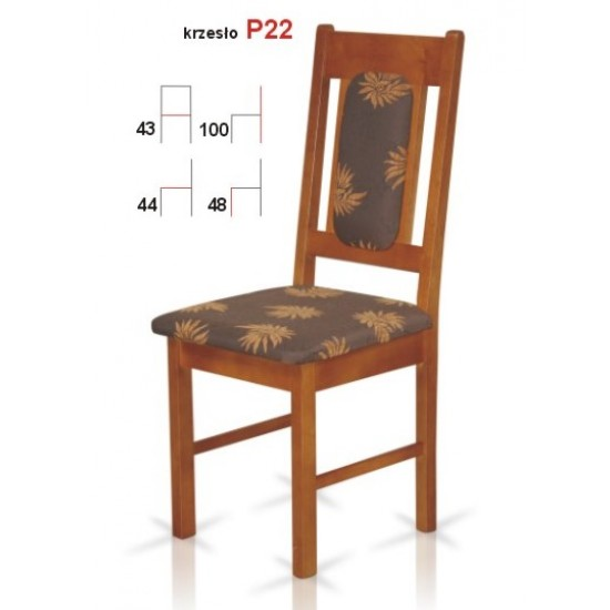 Chair P22 Furniture, Tables and Chairs, Chairs, Wooden Chairs image