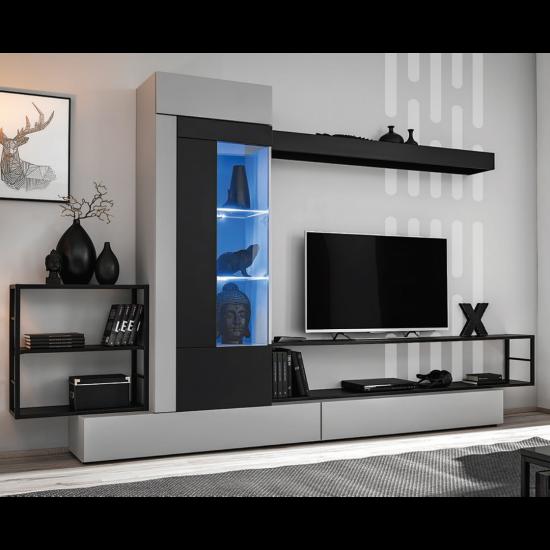 REBEL Wall Unit Set Furniture, Furniture Wall Units, Organizational Furniture, Modern Furniture Wall Units image